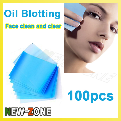 Facial Oil blotting paper Face absorbing oil sheet oil control film Face Clear and Clean 100PCS