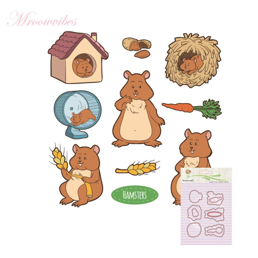 House LC New Metal Cutting Dies Stamp Stencils DIY Scrapbooking Photo Album Decor Cards B 17Oct17 Drop Ship pig silicone clear stamp metal cutting dies stencil frame scrapbook album decor clear stamps scrapbooking accessories