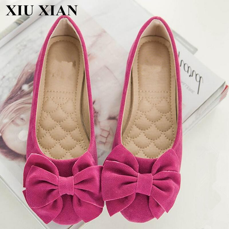 Big Size34-43 Fashion Spring Summer Women Flat Shoes Korean Round Toe Slip on Flats Women Moccasins Shoes Soft Loafer Butterfly spring summer women flat ol party shoes pointed toe slip on flats ladies loafer shoes comfortable single casual flats size 34 41
