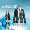 Anime DanganRonpa Cosplay Chiaki Nanami Uniform Jacket Shirt Skirt Anime Halloween Cosplay Costumes For Women Custom Made
