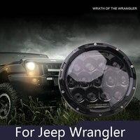 2Pcs Lot LED Work Lights 75W For Jeep Wrangler Headlamps 7 Inch SUV Work Lights Roof