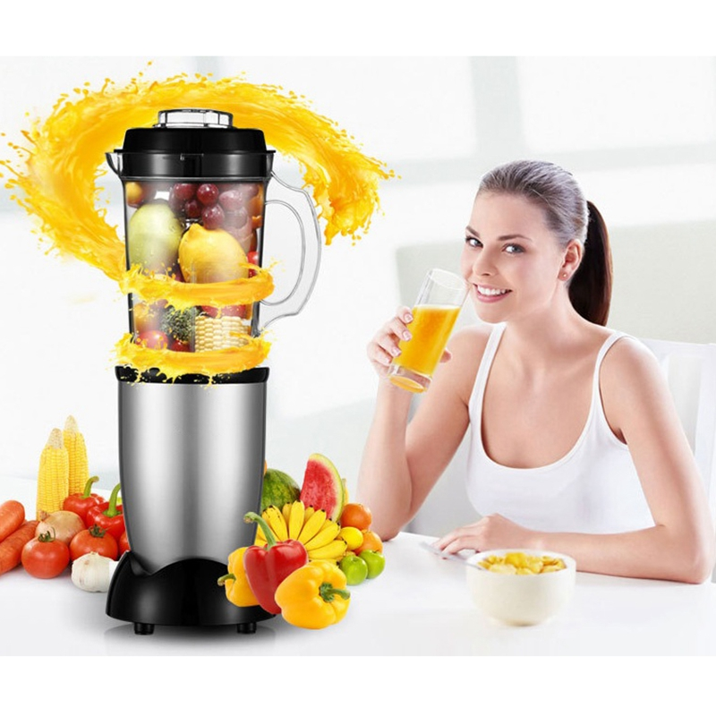 LSTCHi 600ML Multifunctional Fruit Juicer Breakfast Soybean Milk Machine Meat Grinder Ice Crusher Food Mixer Food Processor ice crusher summer sweetmeats sweet ice food making machine manual fruit ice shaver machine zf
