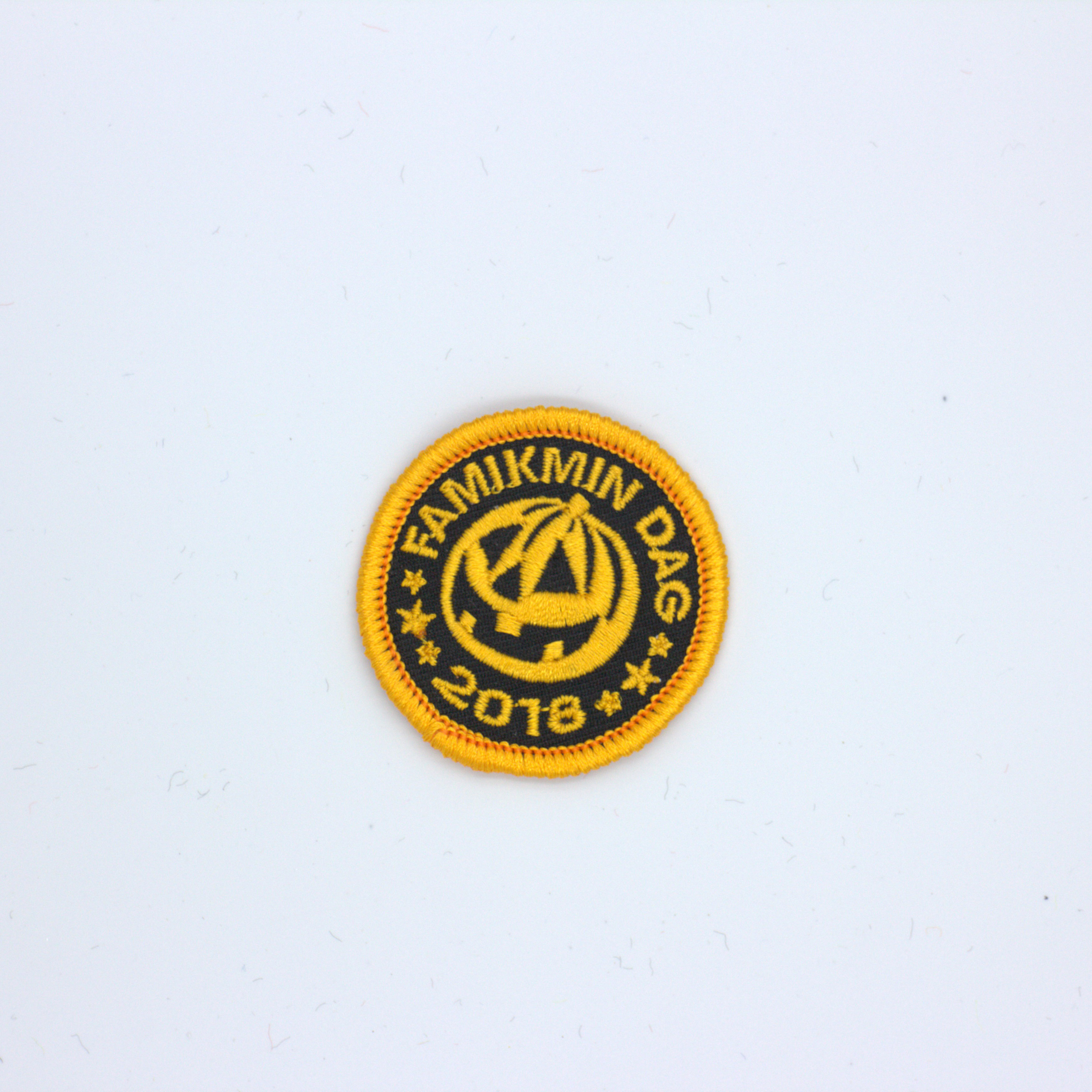 Aegismic custom embroidery chapter patch in Patches from Home Garden