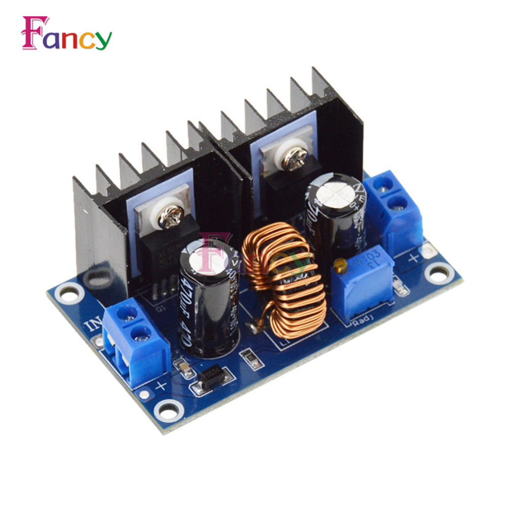 XL4016 PWM Adjustable 4-36V To 1.25-36V Step-Down Board Module Max 8A 200W DC-DC Step Down Buck Converter Power Supply 1pcs professional step down power dc dc cc cv buck converter supply module 8 40v to 1 25 36v 8a adjustable