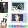 YobangSecurity White 2X 7 Inch Monitor Wifi Wireless Video Door Phone Doorbell Camera Video Door Intercom