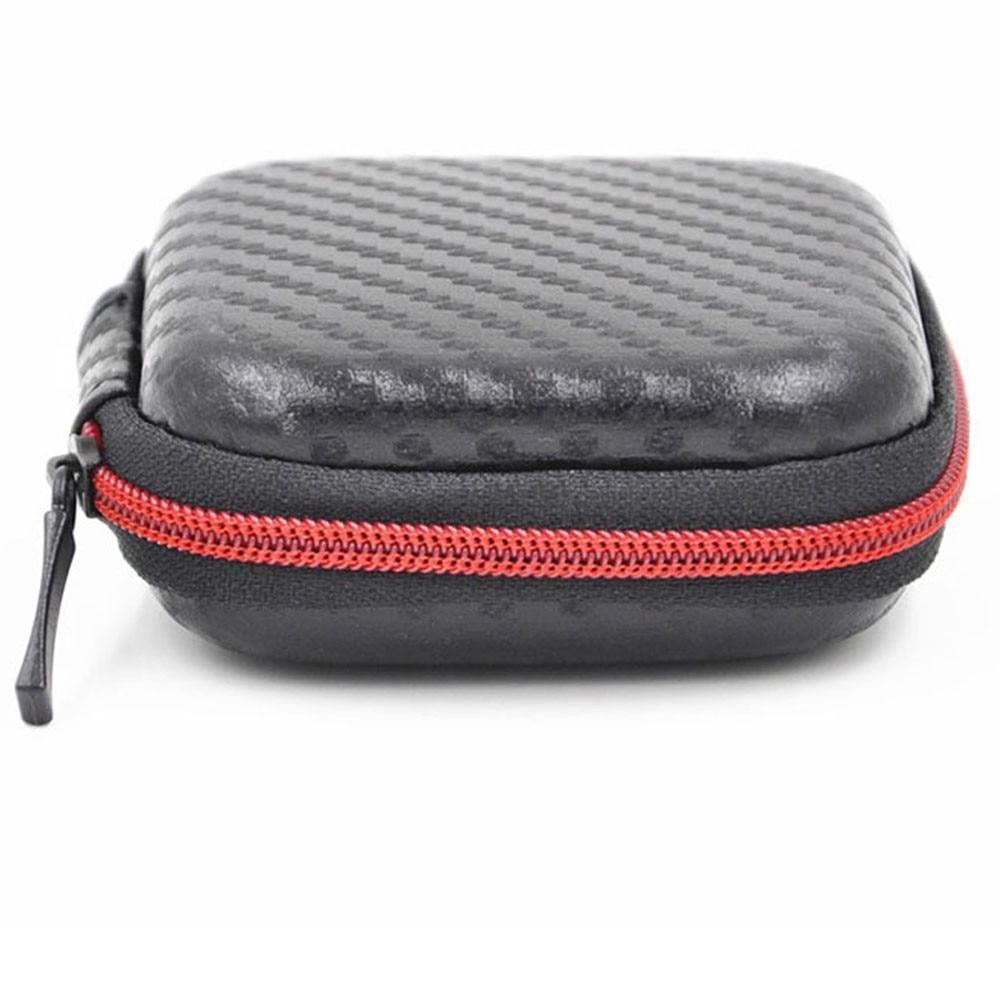 Earphone Case Bag In Ear Earphone Box Headphones Portable Storage Case Bag Headphone Accessories Headset Storage Bag