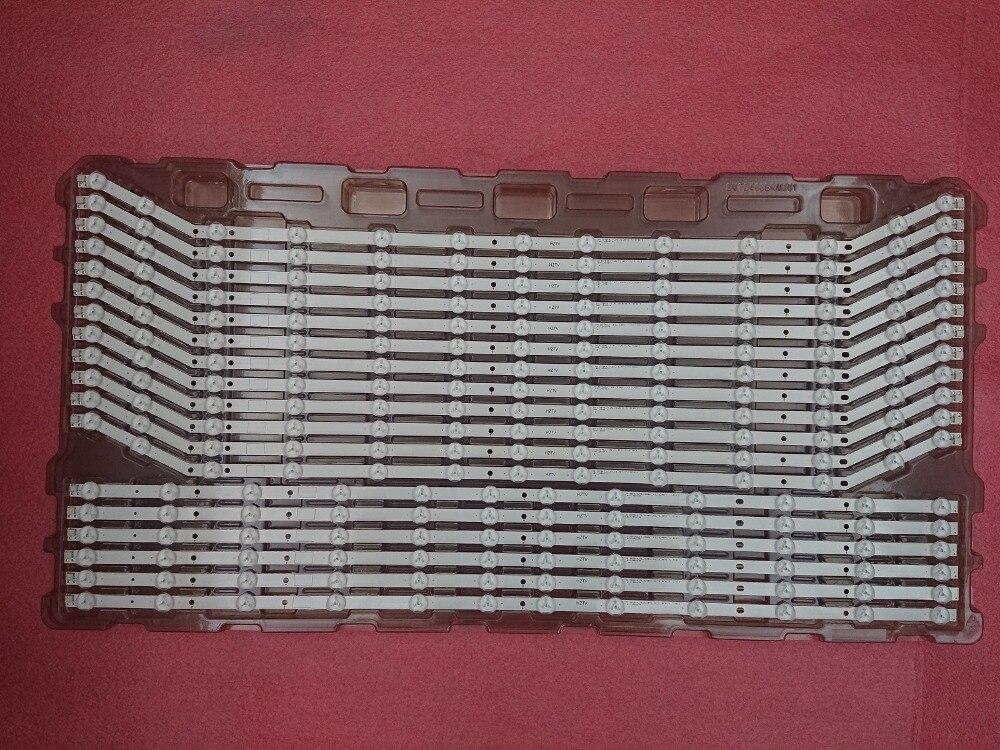 6set 18pcs 12 13LED 76CM LED strip for Samsung UH40H6203AF 2013SVS40 LM41 00001V LM41 00001W BN96