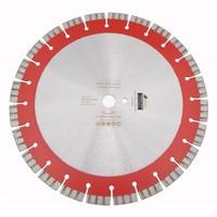 Diatool 14 Профессиональный лазерной сварки высокой Turbo сегменты алмазные Лезвие пилы 358 мм Резка железобетонных алмазный диск колеса