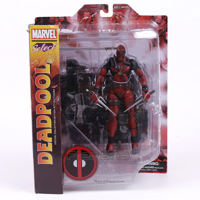 Marvel Legends Pilih Univeres Wade Wilson Deadpool Action Figure Model Toy 18 cm