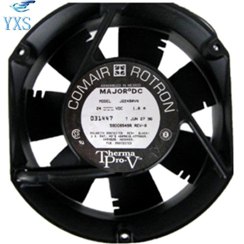 JQ24B0VX DC 24V 1A 24W 3350RPM 2 Wires 17250 17cm 172*150*50mm Double Ball Bearing Cooling FanJQ24B0VX DC 24V 1A 24W 3350RPM 2 Wires 17250 17cm 172*150*50mm Double Ball Bearing Cooling Fan