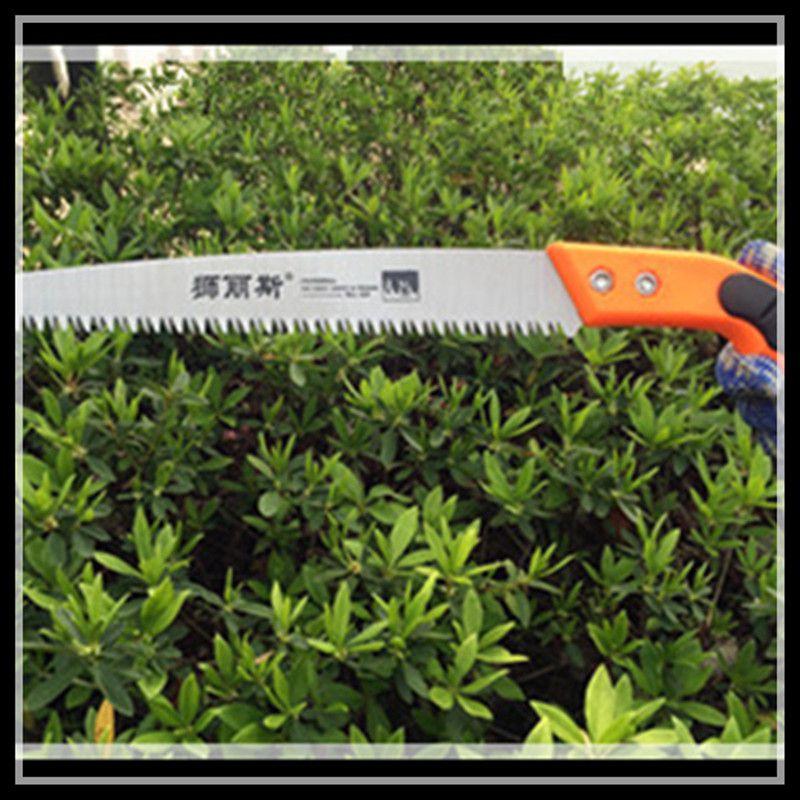 Garden saws hand saws carpentry hand saws gardening tools pruning tools (orange)  folding garden saws garden hand tools gardening carpentry outdoor saws single saw w77