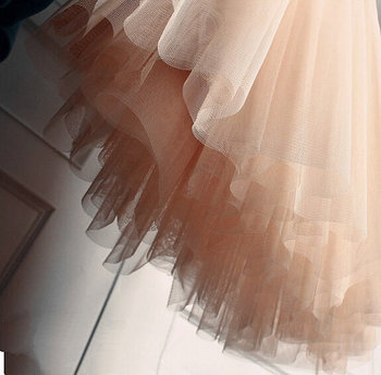 pink tulle for tutu dress , mesh fabric,gauze fabric, light peach pink mesh fabric for skirt, 10 yards /lot