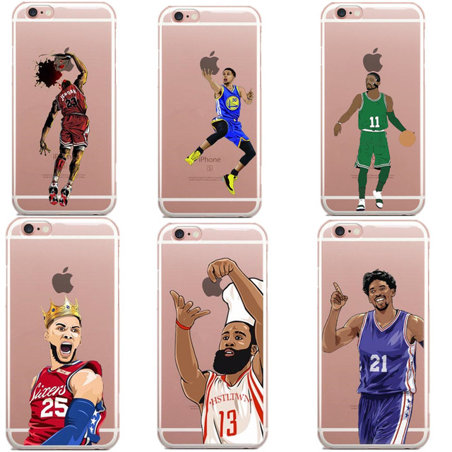 the latest 92a87 03ebc US $2.59 |Basketball LeBron James The GOAT Phone Case For iPhone X 7 8 Plus  6 6SPlus 5 5S SE Jordan 23 harden stephen curry KD kyrie Cover-in ...