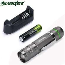 Christmas Day 3000Lm XM-L T6 LED 18650 BICYCLE light 5 Mode Torch Tactical Light Lamp AUGUST25