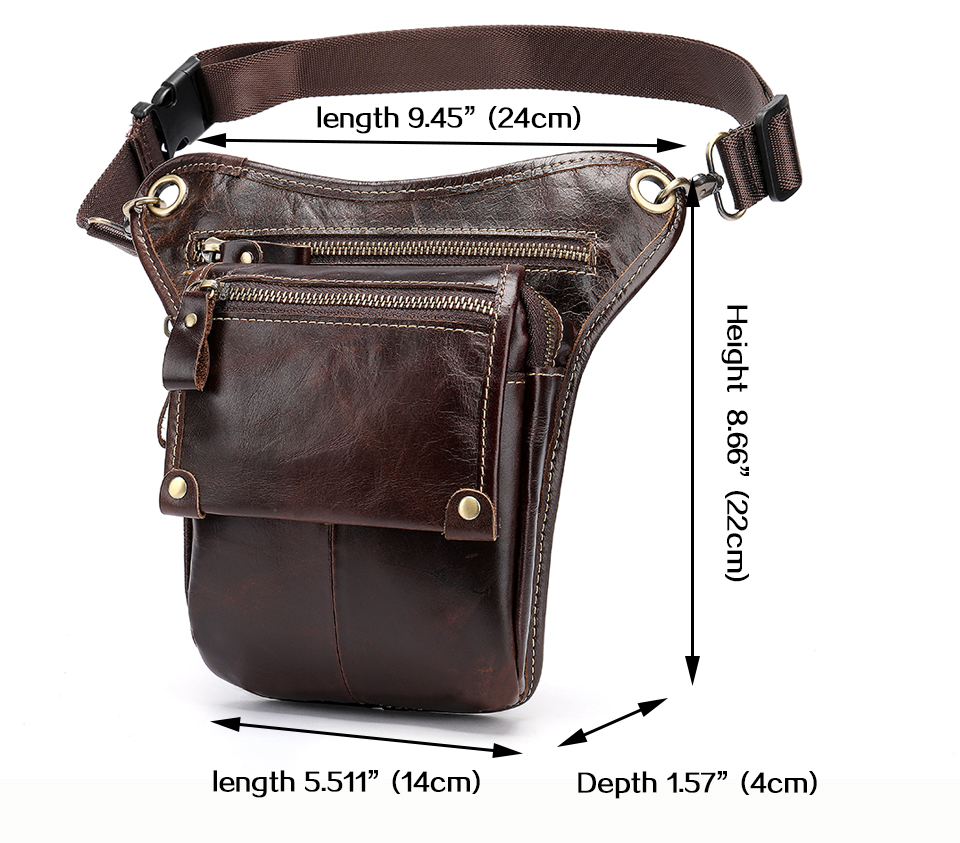 HTB1RKUbaiHrK1Rjy0Flq6AsaFXa1 - WESTAL Genuine Leather leg bag in Waist Pack motorcycle Fanny Pack Belt Bags Phone Pouch Travel Male Small leg bag tactical 3237