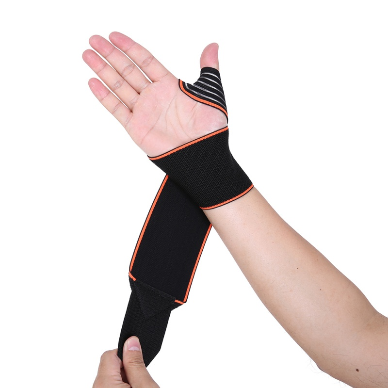 Aolikes Sports Wrist Bands Wrist Support Strap Wraps Hand Sprain Recovery Wristband For Cycling Tennis Gym Accessories