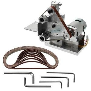 Image 3 - 110 240V Multifunctional Mini Electric Belt Sander Electric Grinder DIY Polishing Grinding Machine Cutter Edges Sharpener