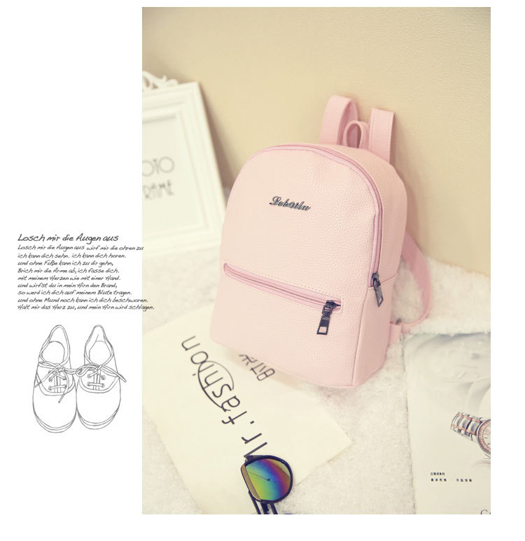 HTB1RKVGCTJYBeNjy1zeq6yhzVXa3 2019 New Backpack Summer Small Women Backpack Candy Color Student Travel Shoulder Bags Teenager Girls Female Mochila Bagpack