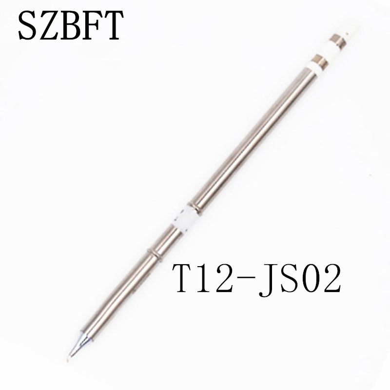 T12-JS02 Series Soldering Iron Tips For HAKKO T12 Handle LED Vibration Switch Temperature Controller FX951 FX-952