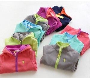 Image 1 - フリース 2020 春の新ジャケット両面ベルベット子供のジャケット男の子と女の子で保温さまざまな色のコート