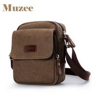 Muzee Man Bags Single Shoulder Bag Canvas Bag Inclined Shoulder Bag Business Leisure Package ME 1568
