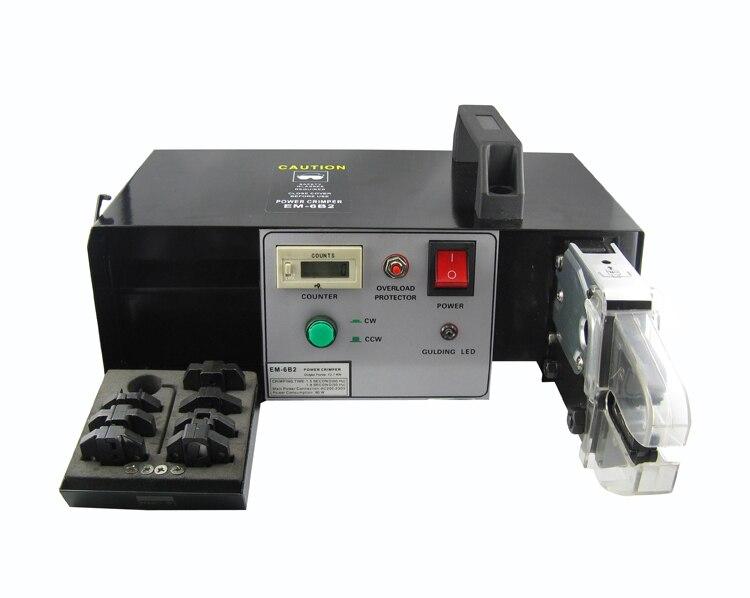 EM 6B2 электрические обжимной машины автоматические машины для обжима обусловлено фиксированная скорость двигатель с заменяемыми штампа