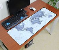 World Map Mouse Pad 900x300x3mm Pad To Mouse Van Gogh Notbook Computer Mousepad Art Gaming Padmouse