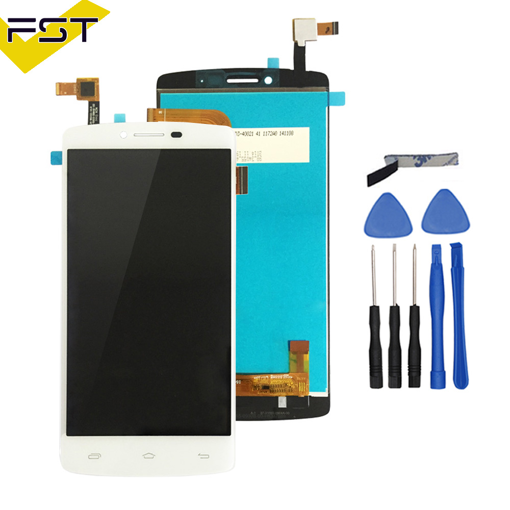 Brand New 5.5 For Prestigio MultiPhone PAP5550 PAP 5550 DUO LCD Screen Display with Touch screen Digitizer Assembly+Tools