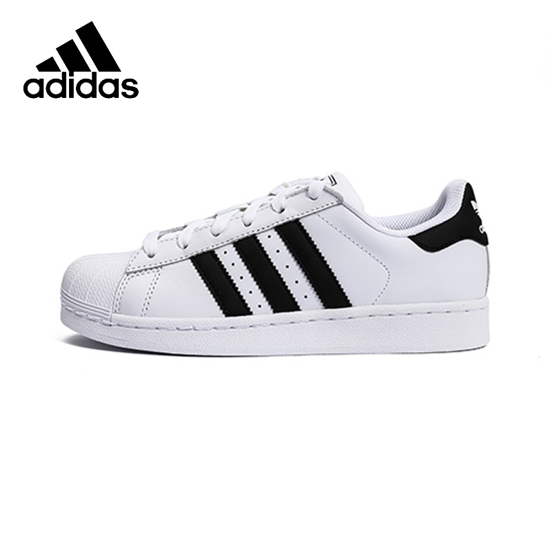 цена Adidas SUPERSTAR Clover Women's And Men's Skateboarding Shoes Sneakers Jogging Sport Outdoor Original Official Brand Designer