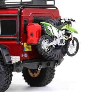 Image 5 - Mini decoración de motocicleta para coche de control remoto, para 1/10, Rock Crawler Traxxas TRX 4 TRX4 Axial SCX10 90046 D90 D110 TF2