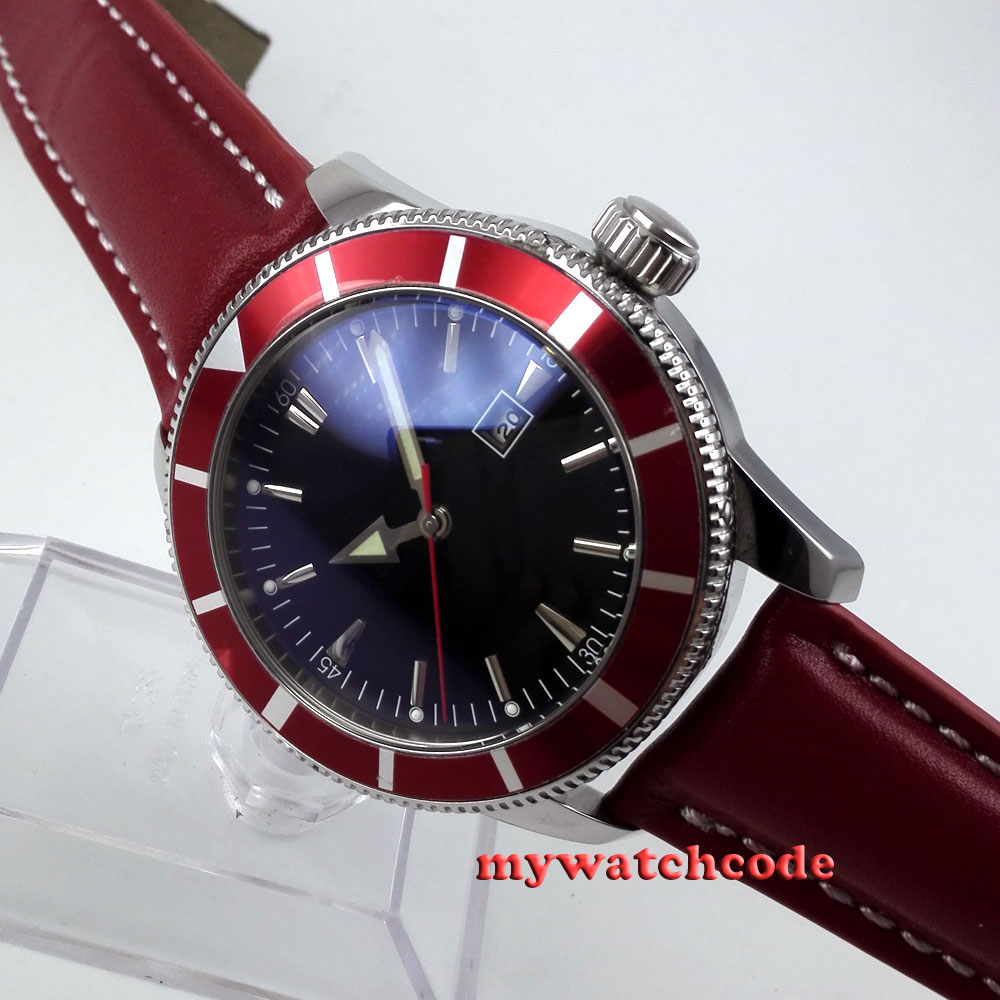 red group sub mens com date on parnis no window automatic watches item alibaba mechanical dial wrist bezel watch black aliexpress in from logo