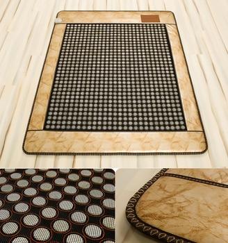 Far Infrared Heating Mattress, Far Infrared Jade&ochre Germanium Thermal Massage Cushion Heating Mattress Free Shipping 1.0*1.9M