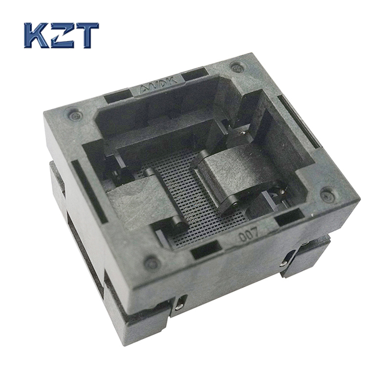 eMMC153/169 Reader Test Socket IC Body Size 12x16mm Pitch 0.5mm BGA153 BGA169 Burn in Socket Adapter Flash eMMC Socket e320c e320b hydraulic pump solenoid valve for 139 3990 5l 8638