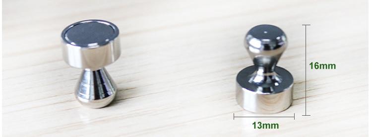 Купить с кэшбэком 10 Pieces/lot N35 N52 Neodymium Office Magnets Whiteboard Magnet For Cup Shape Strong Fridge Magnets