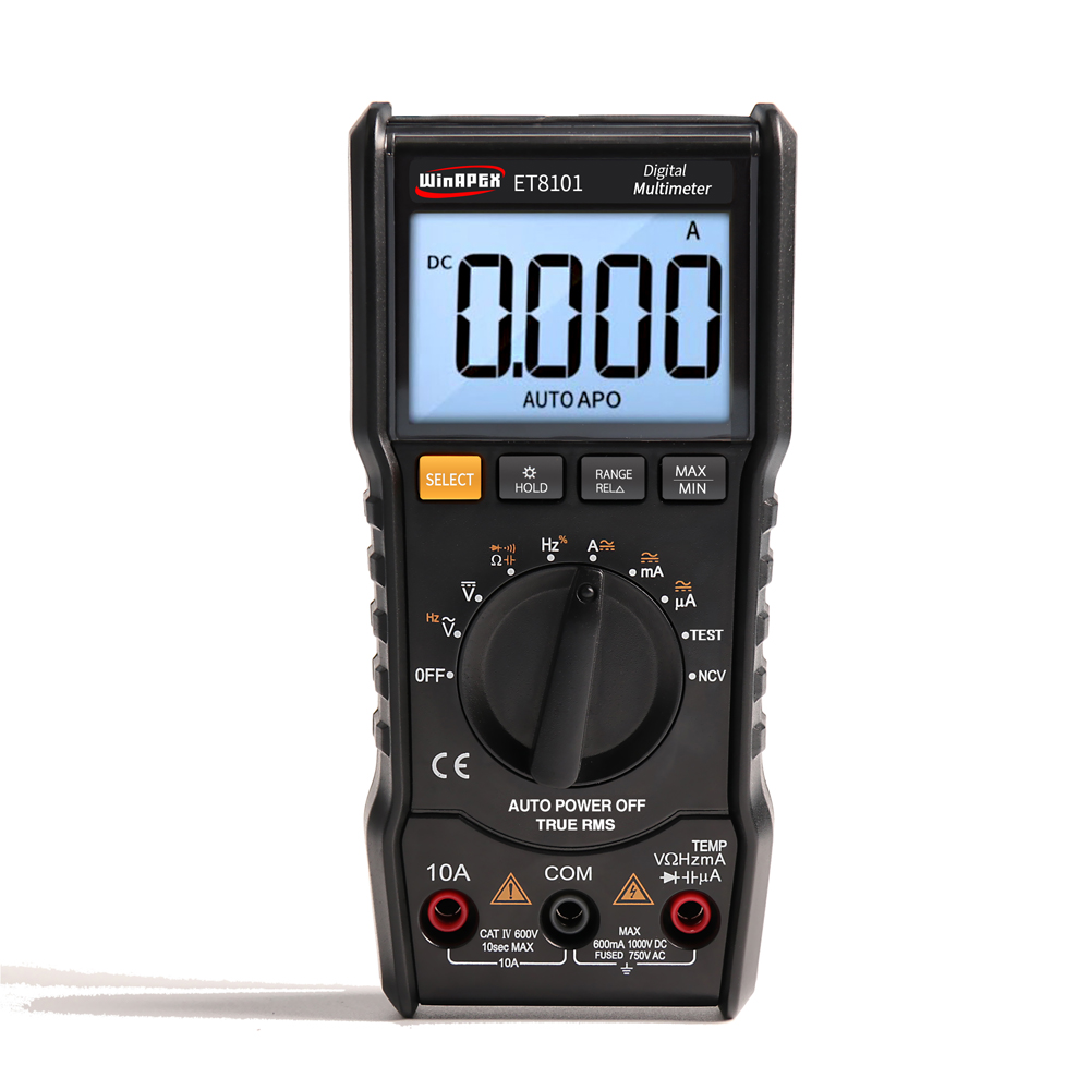 Digital Multimeter Tester 3 5/6 Mini Multimeter AC DC 6000 True RMS Digital Voltmeter 1000V 10A multi meter Pocket Multimeter vc201vc202vc203 pocket digital multimeter full protection of digital multimeter