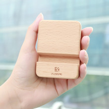FLOVEME Portable Wooden Phone Holder for iPhone X 8 7 plus Universal Tablet Stand Holder for Samsung Huawei Mobile Phone Holders