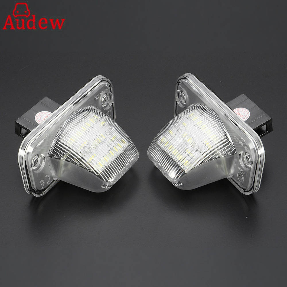 2Pcs 18 LED License Plate Light Number Plate Lamp For Volkswagen/VW/T4/Transporter/Passat Error Free термозащита macadamia лосьон для укладки blow dry lotion объем 198 мл