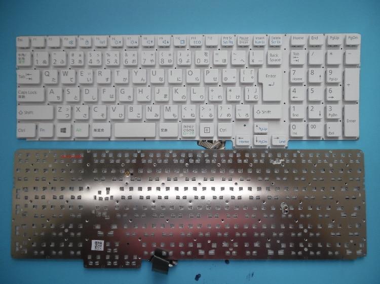 Nouveau clavier dordinateur portable pour FUJITSU AH42/B3 FMVA42B3W FMVA42B3R FMVA42B3B/G disposition japonaiseNouveau clavier dordinateur portable pour FUJITSU AH42/B3 FMVA42B3W FMVA42B3R FMVA42B3B/G disposition japonaise
