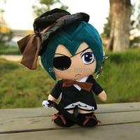 Kuroshitsuji kuroshitsuji sebastian i ciel phantomhive cosplay plush toy 30 cm