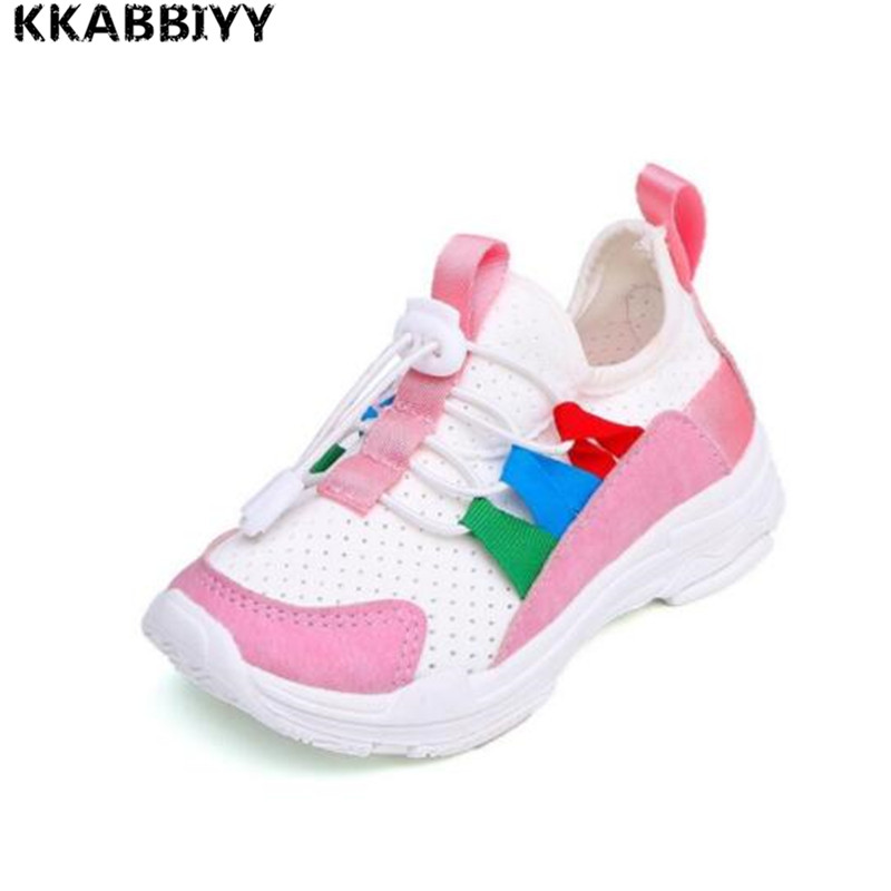 New Arrival Summer/Autumn Kids Baby Boys Shoes Girls Tennis Shoes Footwear Children White Black Cool Shoes For Boy