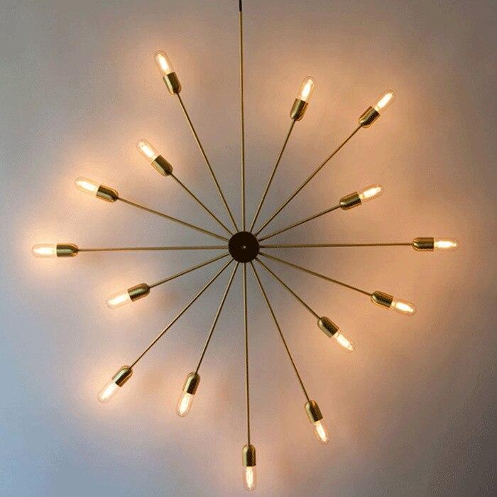 Online Shop Zon vorm ijzeren muur lampen industriële bar woonkamer ...