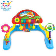 Multifunctional Exercise Piano with Music Intelligence Game Mats Baby Activity Play Mat Baby Gym Educational Fitness Frame Toys
