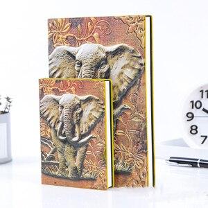 Image 4 - A5 Retro Da Xách Tay Châu Âu Tai Voi Nổi A6 Notepad Cho Du Lịch Tạp Chí Kinh Doanh, Văn Phòng, Đồ Dùng Học Tập