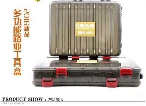 dobro tomou partido 14 10 compartimentos ruke nova caixa de pesca marrom caixa de plastico