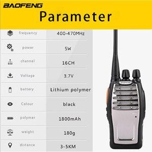 Image 4 - (4 個) BaoFeng UHF トランシーバー BF A5 16CH VOX + スクラン機能送料無料双方向ラジオ