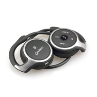 Original Suicen AX 698 L8 Bluetooth Headphone Wireless Jaws Support TF Card FM Radio Portable Neckband