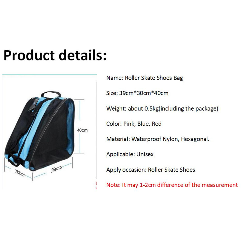 Image 4 - Quality Mcro Roller Skating Shoes Backpacks Inline Skate Shoes Shoulder Bags/Handbags 3 Colors Available Skateboard Skating Bag-in Skate Board from Sports & Entertainment