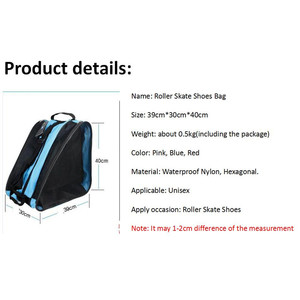 Image 4 - Quality Mcro Roller Skating Shoes Backpacks Inline Skate Shoes Shoulder Bags/Handbags 3 Colors Available Skateboard Skating Bag