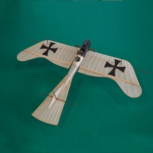 New Arrival Etrich Taube 420mm Wingspan Monoplane Balsa Wood Laser Cut RC Airplane Kit& Power System Kids Outdoors Toys Gifts