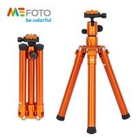 MeFOTO MF15 Professional SLR Camera Tripod Macroshot Portable Tripod SLR Three Legs Colorful Travel Tripod Selfie Pod